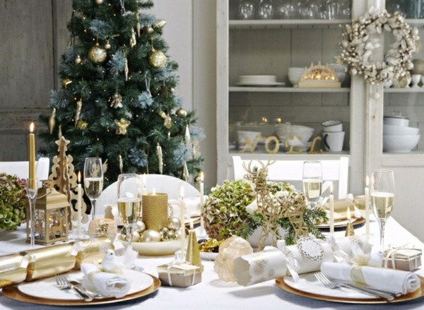 Astuces pour un no l sans stress simplement organis e for Decoration de table de noel argent