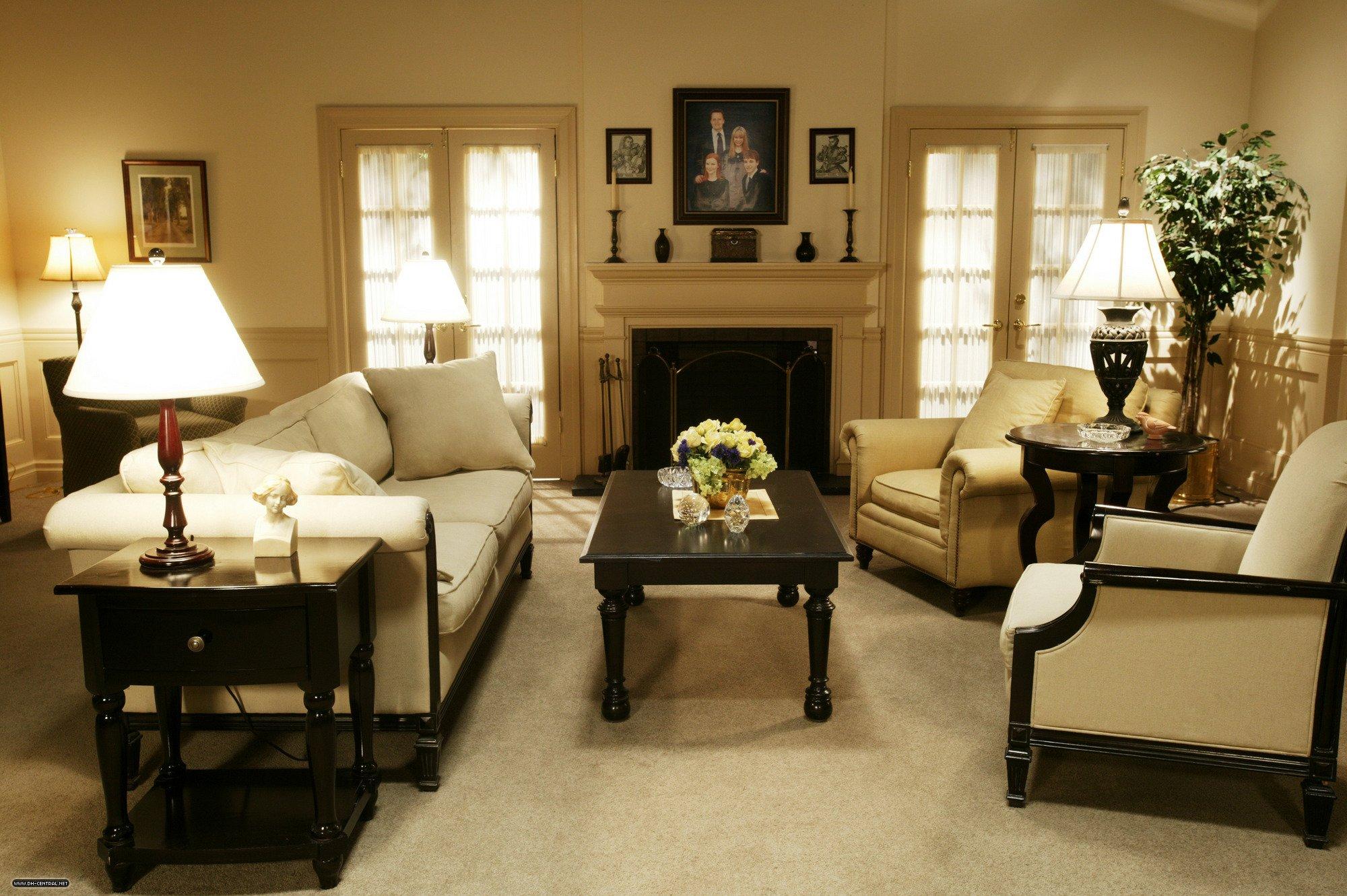 interieur maison bree van de kamp. Black Bedroom Furniture Sets. Home Design Ideas