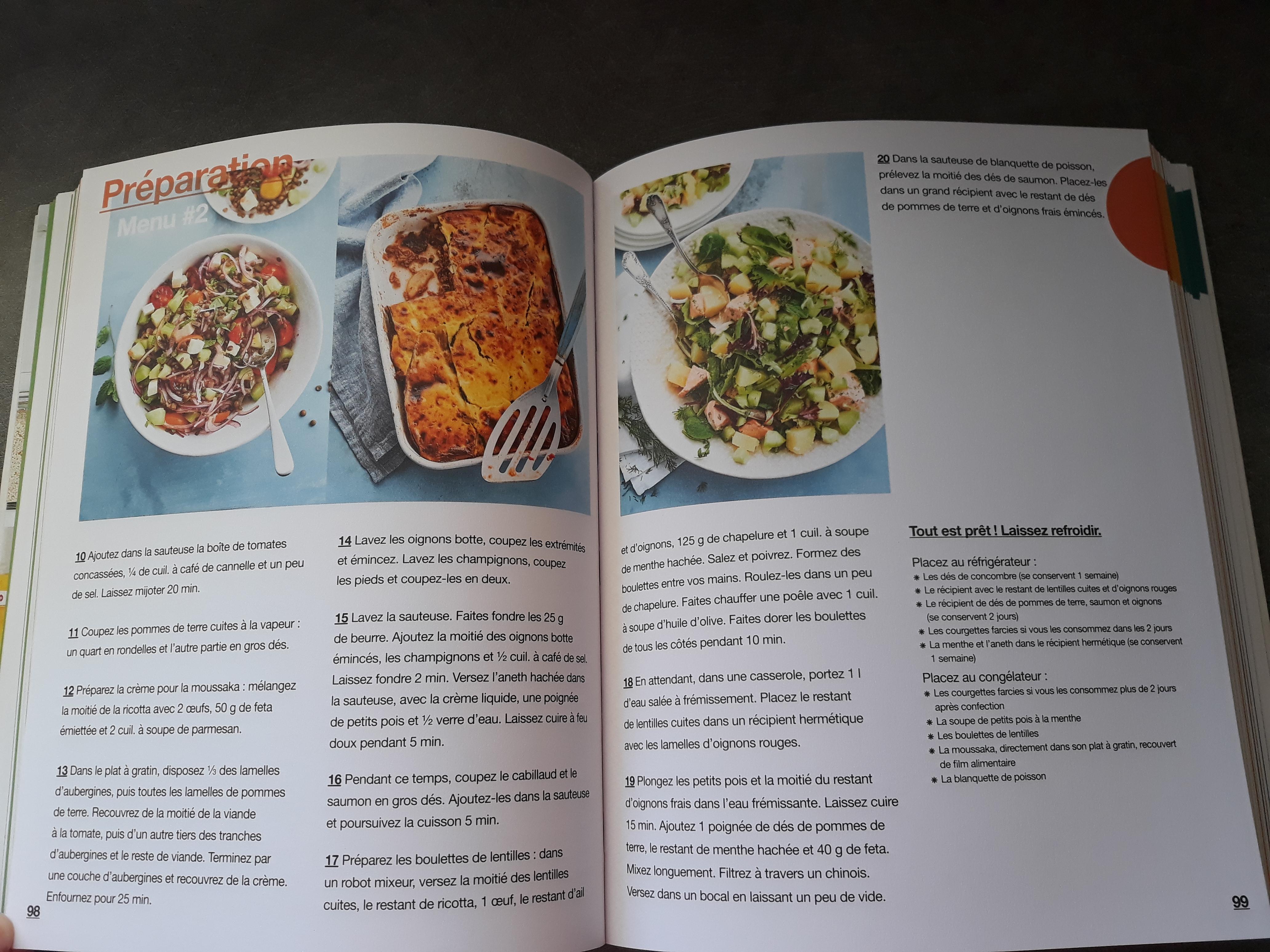 J Ai Teste Le Livre En 2h Je Cuisine Pour Toute La